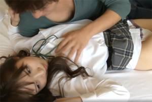 【高画質】 激カワおしゃれ系女子校生が照れながらのドキドキセックスがカワイイ【HD画質】