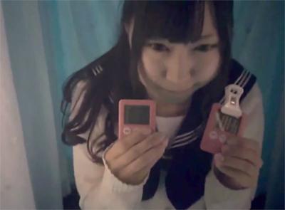 女子校生見学クラブで隠し撮りした映像が出回ってしまう! モロ顔出しの制服オナニー!  【素人】